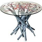 Established 98 21407 Mable Side Table, Dusty Blue