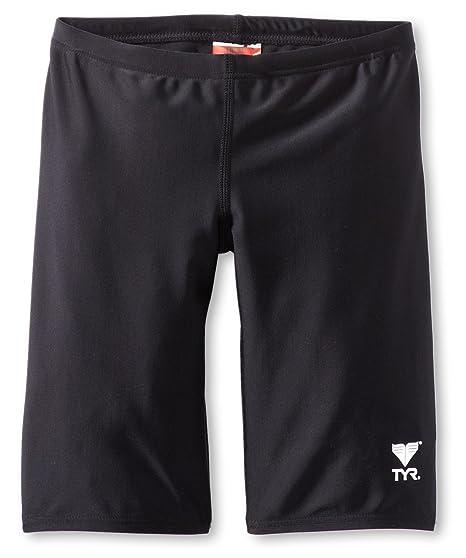 71fd3320d3ab6 Amazon.com : TYR Sport Boys' Solid Jammer Swim Suit : Athletic Swim ...