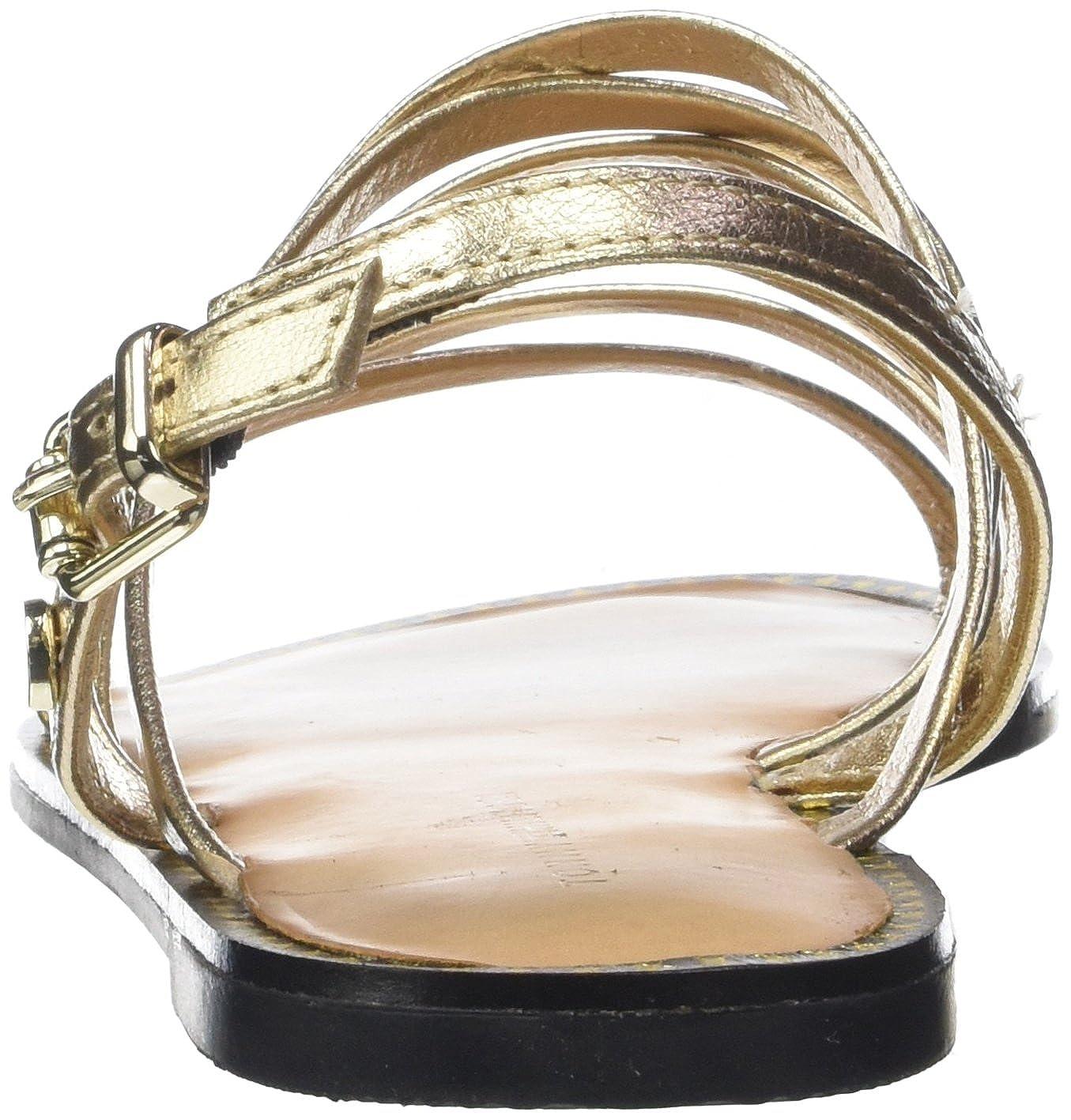 Tommy Hilfiger Damen Metallic Strappy (Mekong Flat Sandale RiemchenSandale, Gold (Mekong Strappy 709) b4ffcd