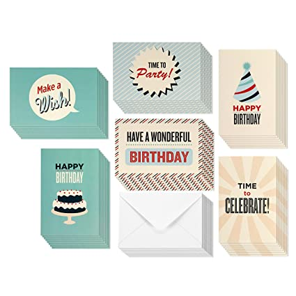 Amazon best paper greetings birthday card 48 pack birthday best paper greetings birthday card 48 pack birthday cards box set happy birthday m4hsunfo