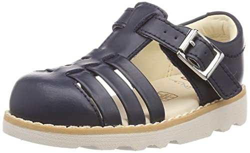 518eed9859e Clarks Girls  Crown Stem T Closed Toe Sandals  Amazon.co.uk  Shoes ...