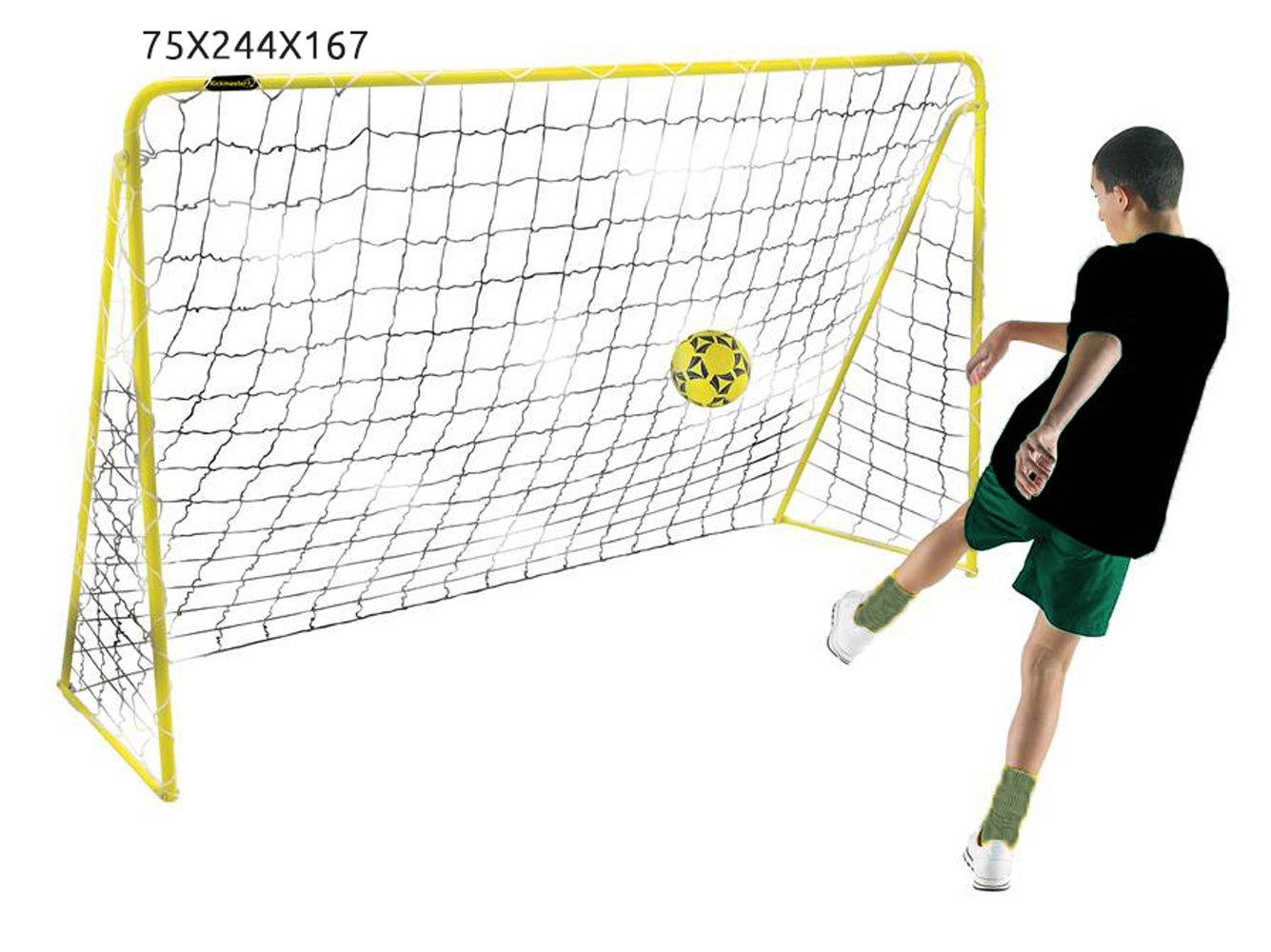 Kickmaster 8 ft Premierゴールボールゲームby Kickmaster B00HN50FIC
