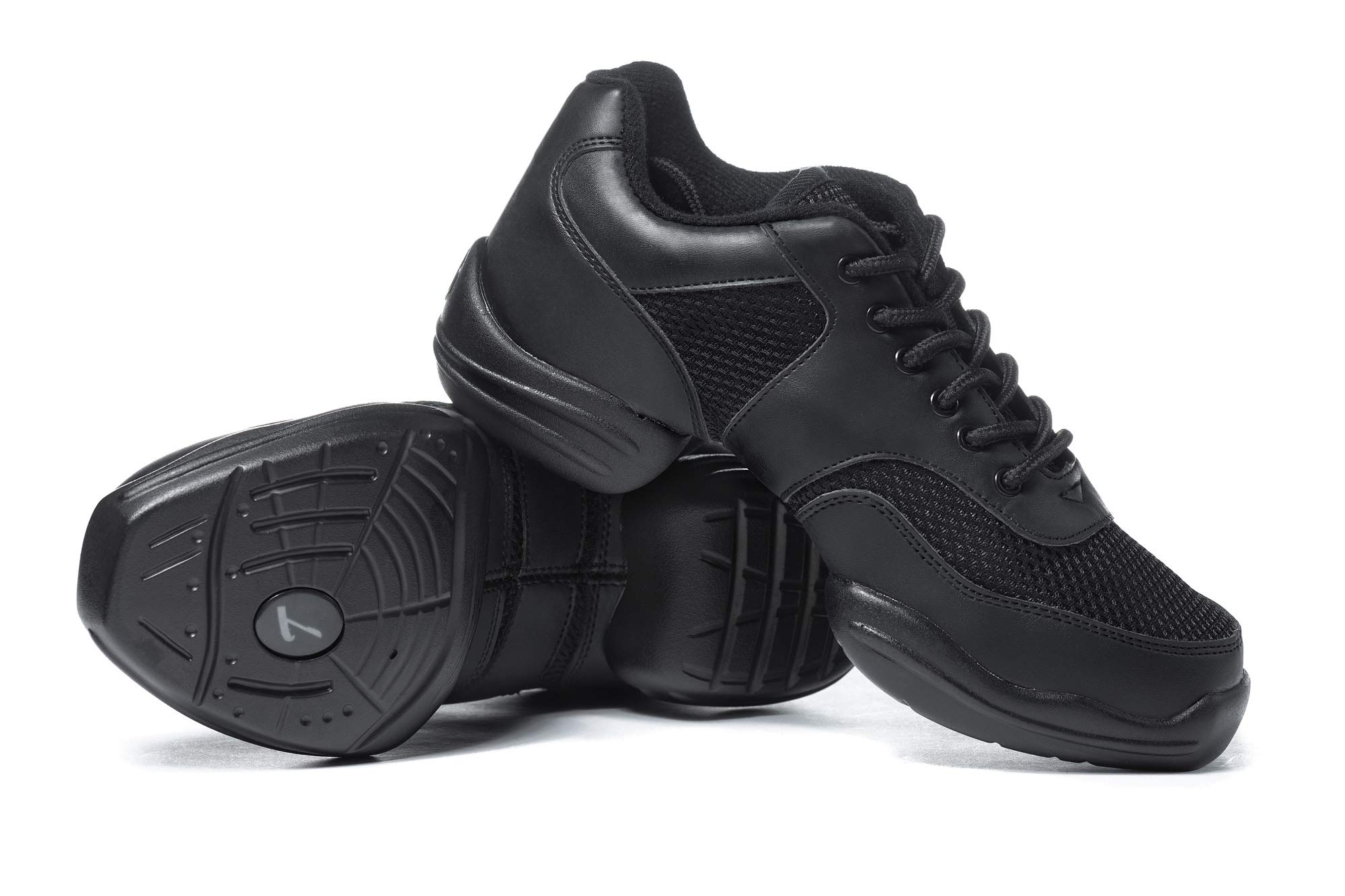 Adult Split-Sole Sneaker T8000BLK10.5 Black 10.5 M US by Theatricals