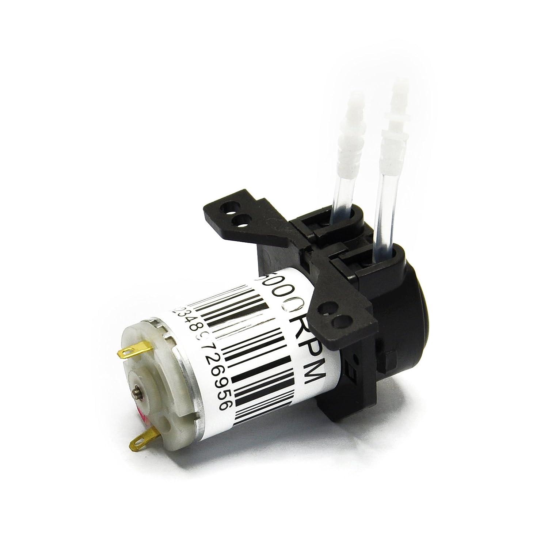 Gikfun 12V DC Pompe Peristaltic Dosage Tête connecteur Arduino Aquarium Lab Analytique Bricolage Ae1207u