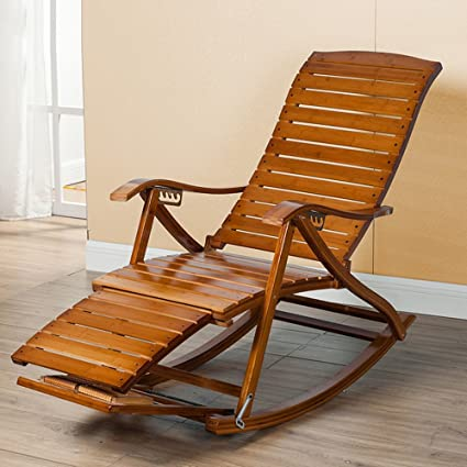 Amazon.com : Lounge chair YNN Adjustable Leisure Rocking Chair ...
