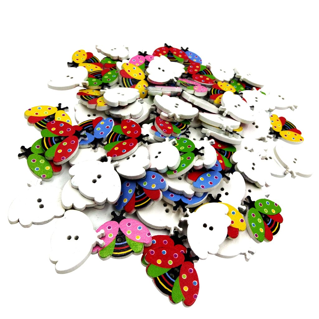 /3 Pair Assorted Decorative Horn Toggle Sewing Closures Buttons for Coat Jacket Duffle DIY Craft Garment Accessories