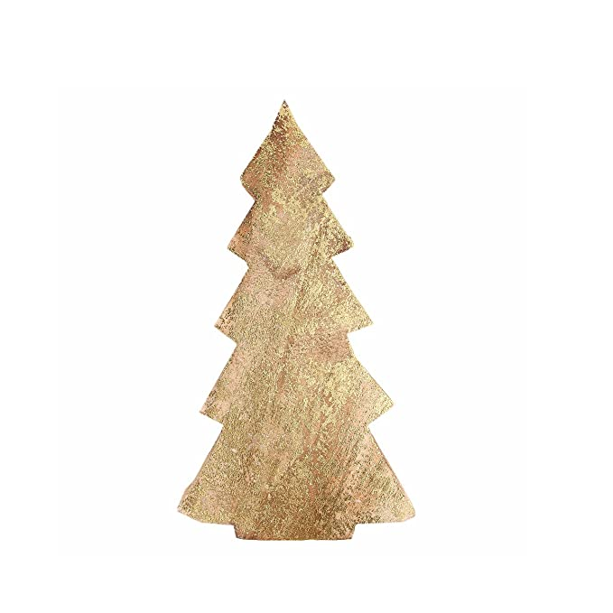 Weihnachtsdeko Gold Braun.Wunderbar Deko Baum Holz Groß Braun Gold Weihnachtsbaum