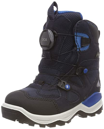 00baee830d3 ECCO Unisex Kids' Mountain Snow Boots, Blau (Black/Night Sky 51237)