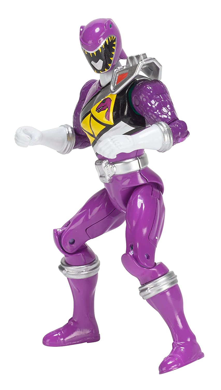 5 5 Bandai America Incorporated 43310 Power Rangers Dino Super Charge Original Purple Ranger Action Hero Figure