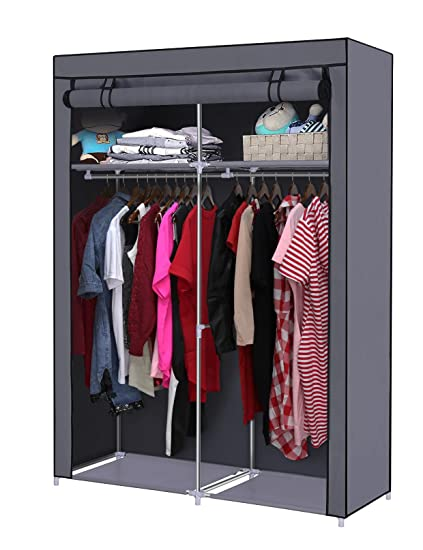Superbe YOUUD Closet Organizer Wardrobe Portable Wardrobe Storage Clothes Closet  Portable Closet Rod Storage Closet Standing Closet