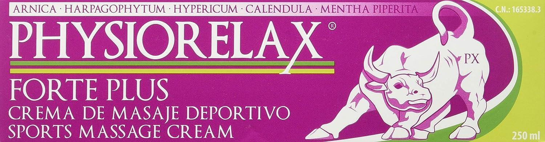 PHYSIORELAX Forte Plus Crema de Masaje Deportivo 250ML