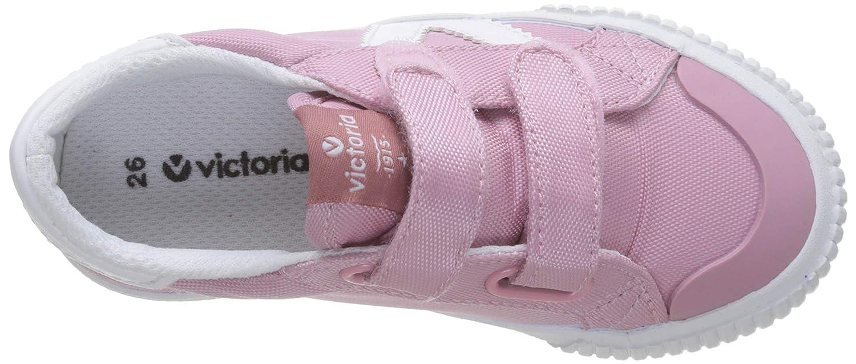 Rosa Victoria Shoes Tribu Nylon Velcro Sneakers