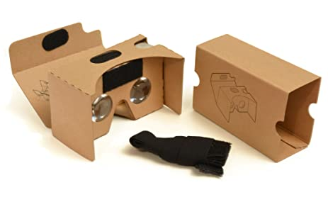 Amazon.com: Google Cardboard V2 Virtual Reality 3D Kit Compatible ...