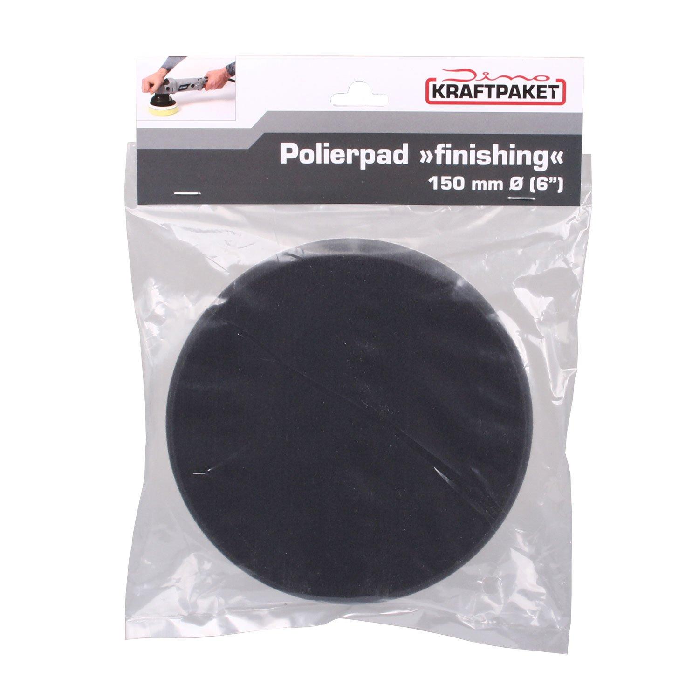 Dino Polierschwamm 180mm X 30mm Finishing-Polierpad weich f/ür Polierteller mit Klett ab 150mm f/ür eine tiefgl/änzende Politur ideal gegen Hologramme