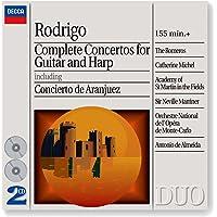 Rodrigo Complete Guitar Harp Concertos