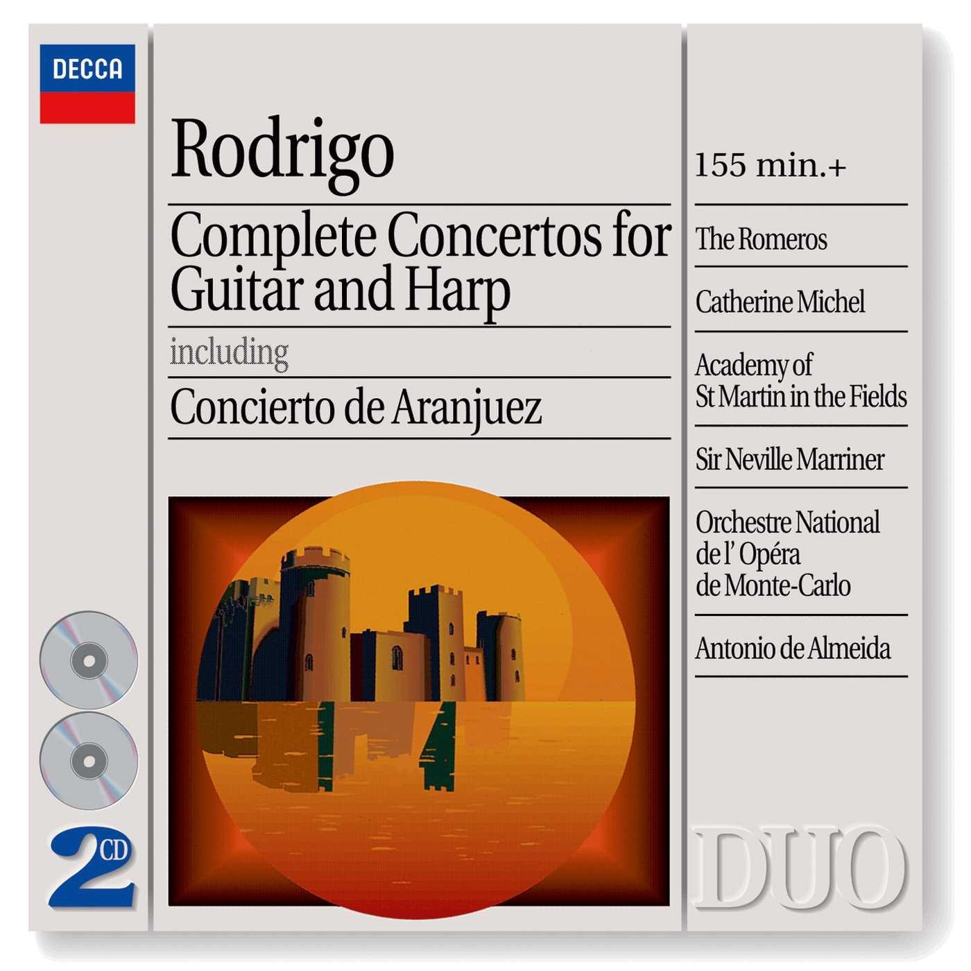 Rodrigo: Complete Concertos for Guitar and Harp incl. Concierto de Aranjuez