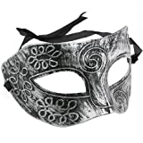 Tinksky Mens Masquerade Masks Face Mask Venetian Masks for Fancy Dress Ball / Masked Ball / Halloween (Silver)