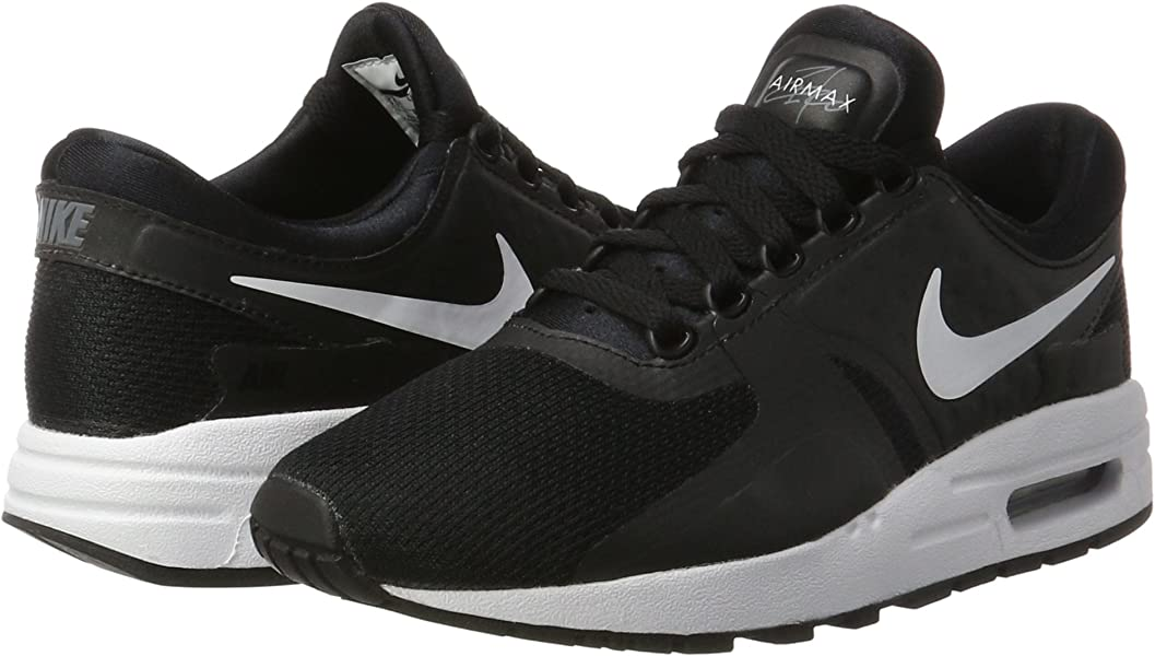 huge discount 9a0ef 6d3ab Nike Big Kids Air Max Zero Essential (Gs) (Black White-Dark. Back.  Double-tap to zoom