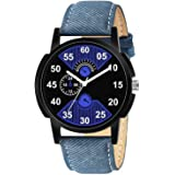 DAINTY Men's and Boy's Watch with Analogue Display and Leather Strap - G-0002