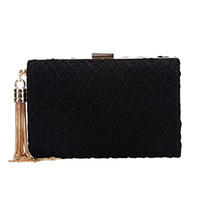 Amazon.com: fawziya encaje borla embragues y tarde bolsas ...