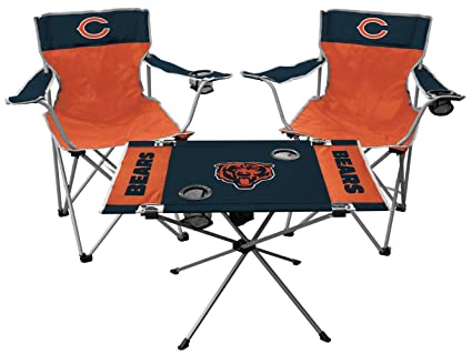 Surprising Rawlings Nfl Chicago Bears Tailgate Kit Team Color One Size Ocoug Best Dining Table And Chair Ideas Images Ocougorg
