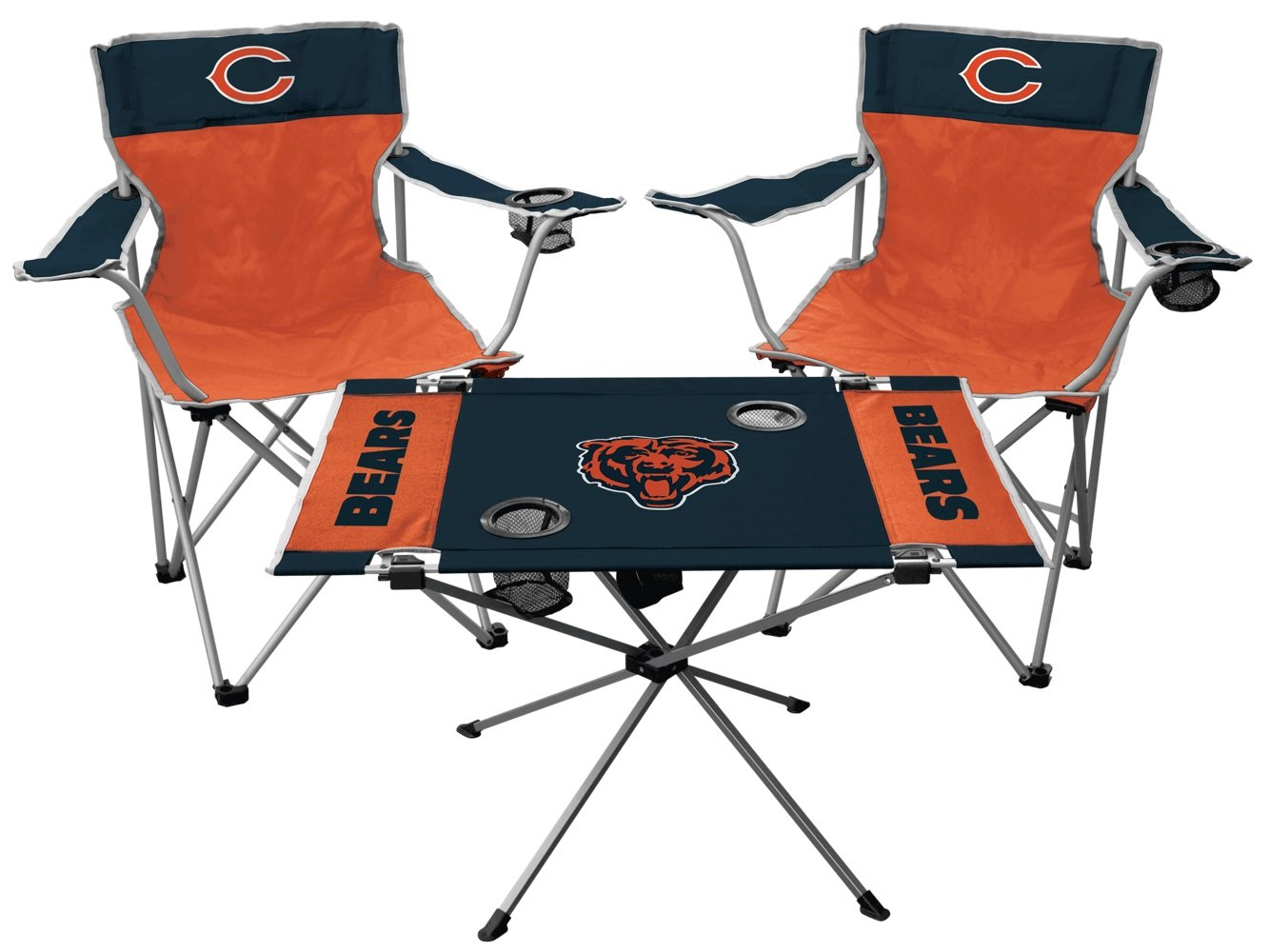 Rawlings NFL Chicago Bears Tailgate Kit, Team Color, One Size