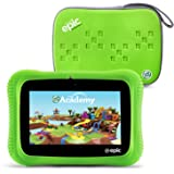 """LeapFrog Epic Academy Edition 7"""" Android 2.0 Based Kids Tablet 16GB with Carrying Case, Green"""