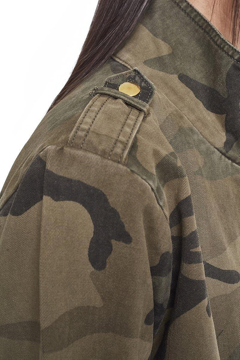 Urban Classics Ladies - Cotton Parka Jacket Wood camo at ...