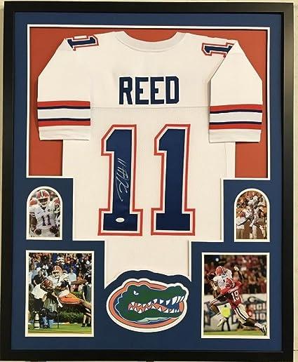 Jordan Reed Signed Florida Gators 34