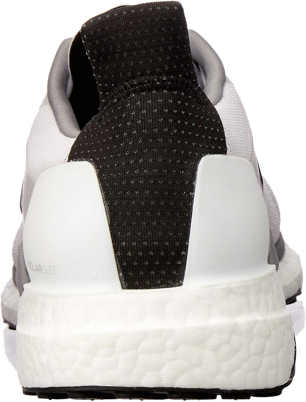 adidas Men's Solar Boost Running Shoes Footwear White/core Black/grey