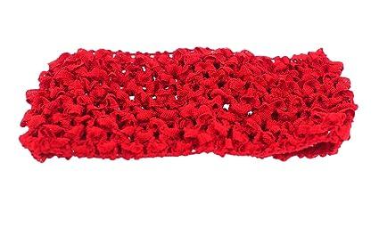 Amazon.com  Trimweaver 10-Piece Woven Crochet Fabric Headbands dc9fb02fddd