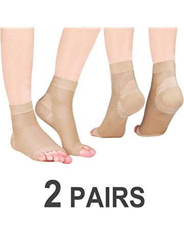 63dcd3f2ca Vitty Plantar Fasciitis Socks for Men & Women, Great Compression Socks and Foot  Care Compression