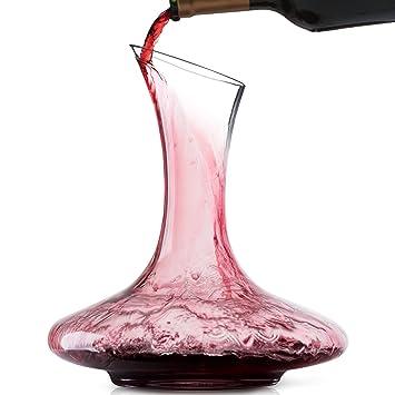 Doctor Hetzner Carafes à Décanter en Cristal Aérateur de Vin Classique  Carafe à Vin Elégante Accessoires 7386c5cc5221