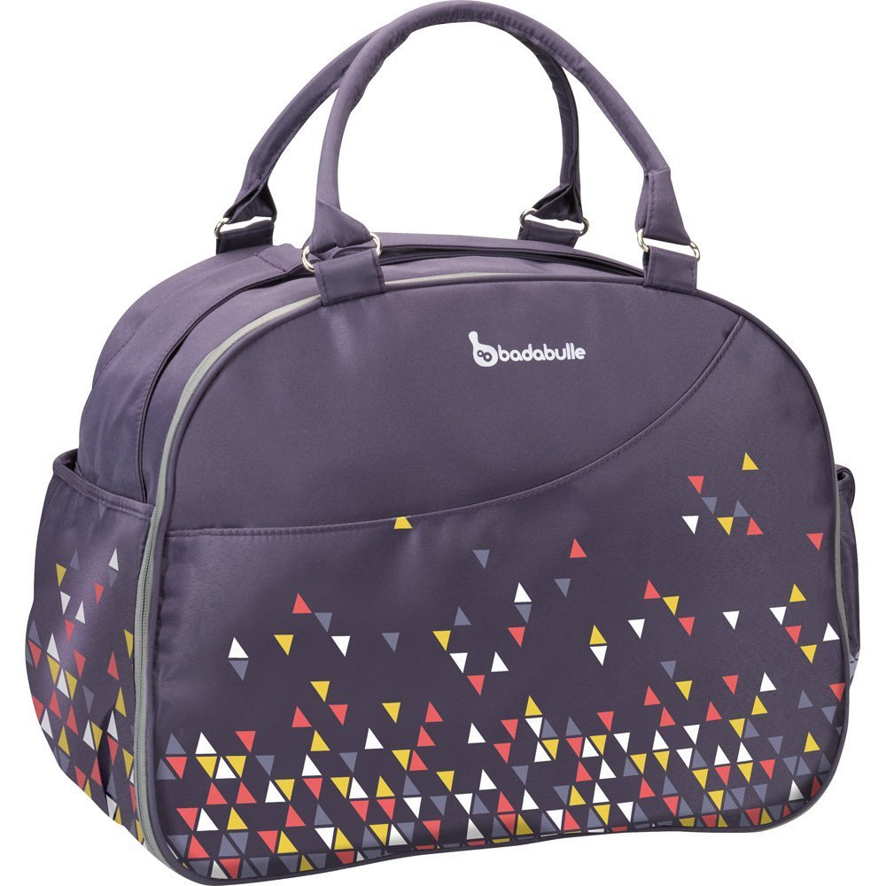 Badabulle Weekend Changing Bag (Confetti Purple) B043017