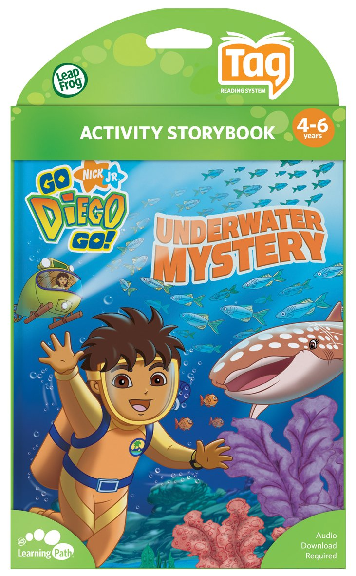 Leapfrog Tag Activity Storybook Go Diego Go!: Underwater Mystery by LeapFrog (Image #3)