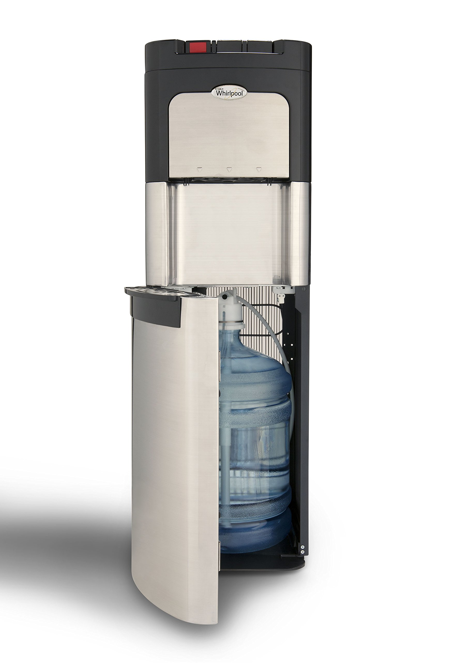 Whirlpool Bottom Loading Commercial Water Cooler Dispenser, Ice Chilled Water, Steaming Hot, Full Stainless Steel Water Dispenser