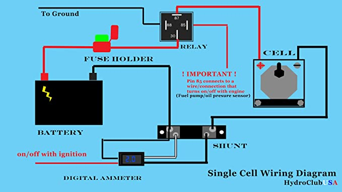 Hho Relay Wiring Diagram on
