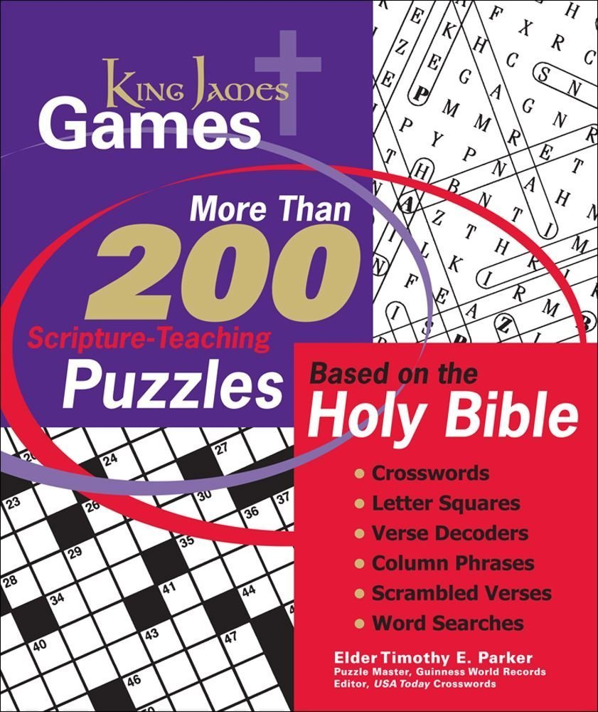 King James Games: More Than 200 Scripture-Teaching Puzzles Based on