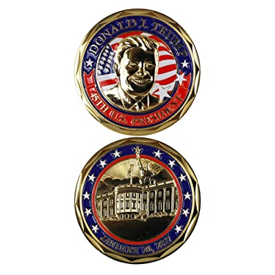 Donald J. Trump 45TH President January 20, 2017 Challenge Coin