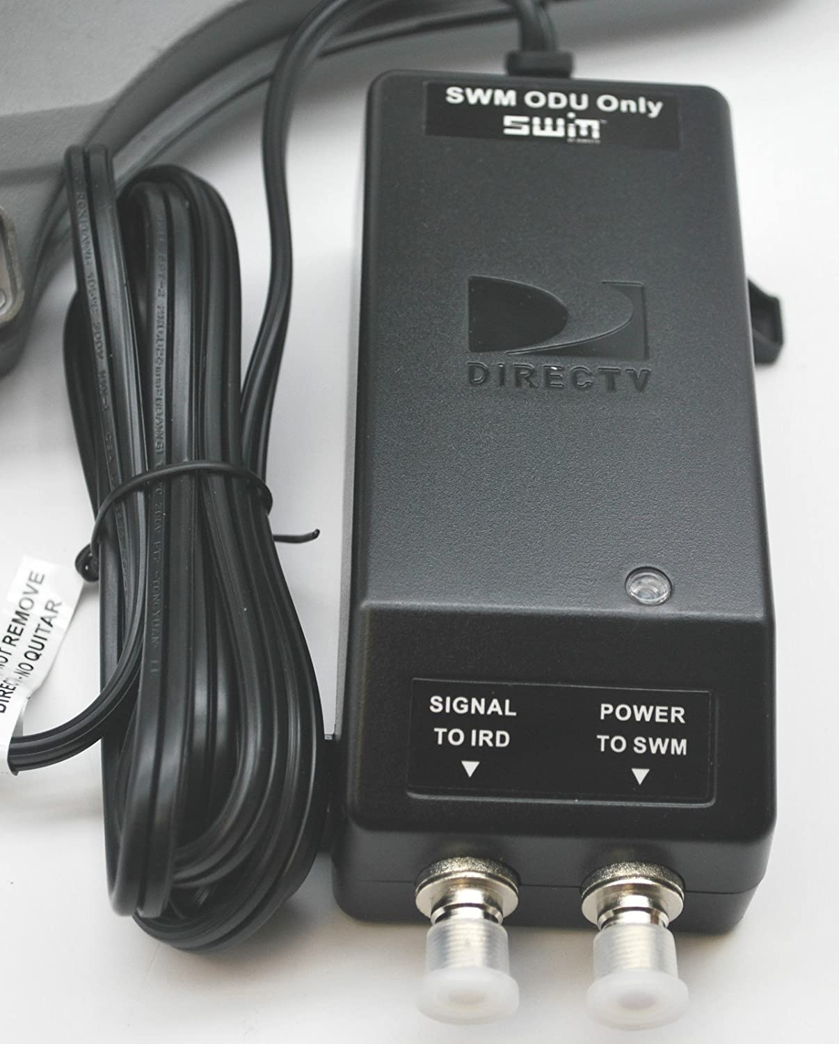 Amazon.com: DIRECTV SWM 5 LNB SLIMLINE KA/KU SL5 MPEG4 HD LNBF W/ POWER  SUPPLY and 8WAY SPLITTER: Home Audio & Theater