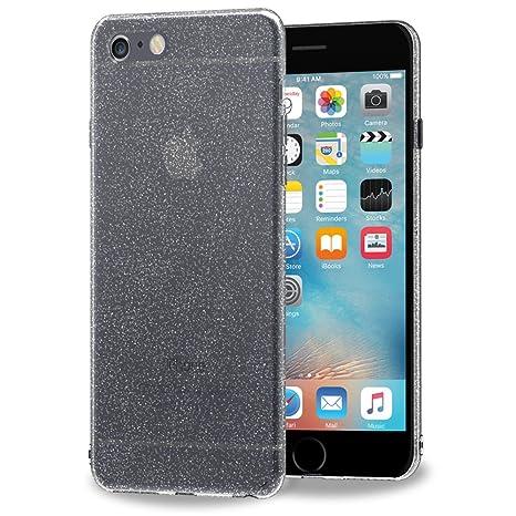 iVoler Funda Carcasa Gel Space Quartz para iPhone 6S Plus/iPhone 6 Plus 5.5 Pulgadas