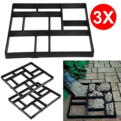 Paving Molds Paving Pavement Stone Mould Stepping Stone Mold Garden Lawn Path Paver Walk Garden Lawn Mold Fixing Prices According To Quality Of Products