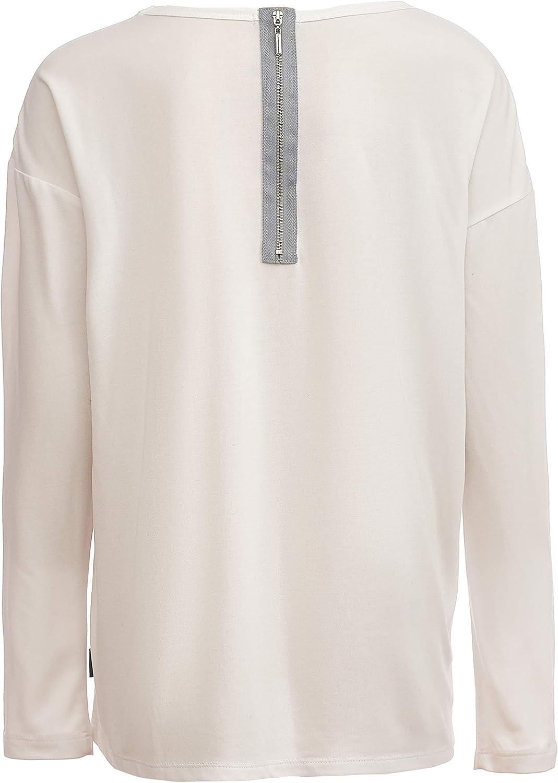 color blanco 11-14 a/ños, 146-164 cm GULLIVER Camiseta de manga larga para ni/ña