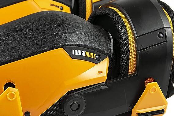 ToughBuilt TB-KP-G205 Genouill/ères stabilisatrices Noir Jaune Taille unique