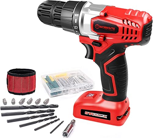 SKIL Rechargeable 4V Cordless Screwdriver with Circuit Sensor Technology, Includes 9pcs Bit, 1pc Bit Holder, USB Charging Cable – SD561201