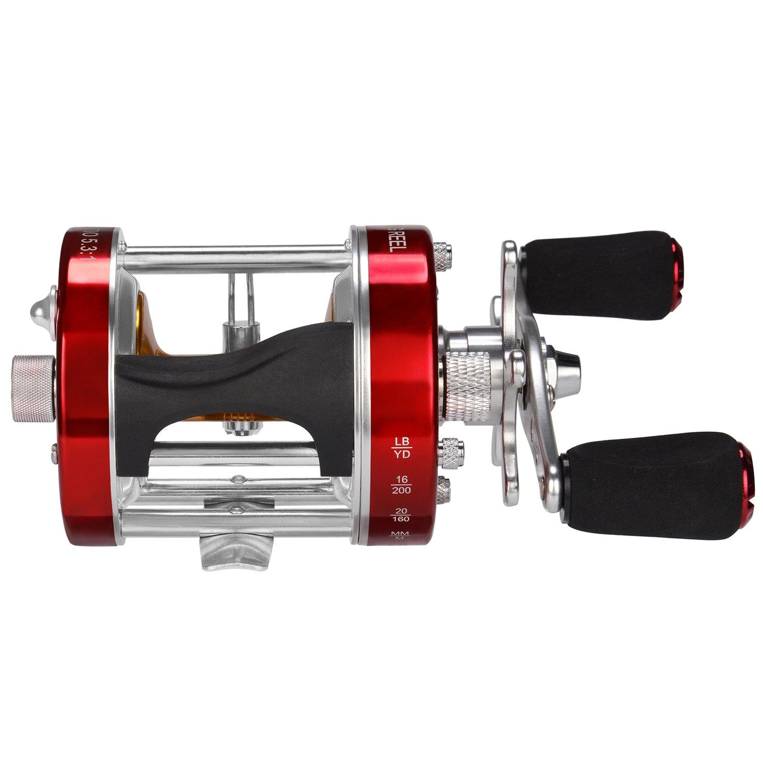 KastKing Rover Round Baitcasting Reel, Right Handed Reel,Rover60 by KastKing (Image #2)