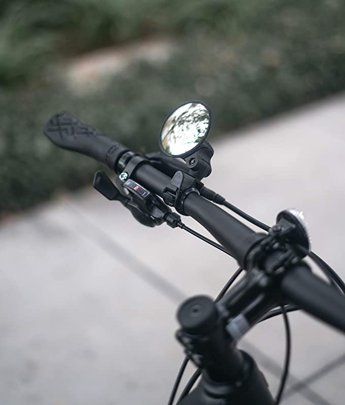 Adjustable Bicycle Mirrors LAOZI Bicycle Mirrors Used For Mountain Bike Handshaking