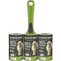 Pacote de rolo de fiapos Evercare Pet, 50% mais captador por folha, 180 folhas (617132) (embalagem e cores podem variar)