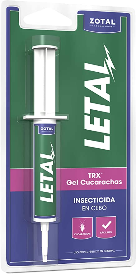 Letal Plus Trx Gel Insecticida para Cucarachas - 10 gr