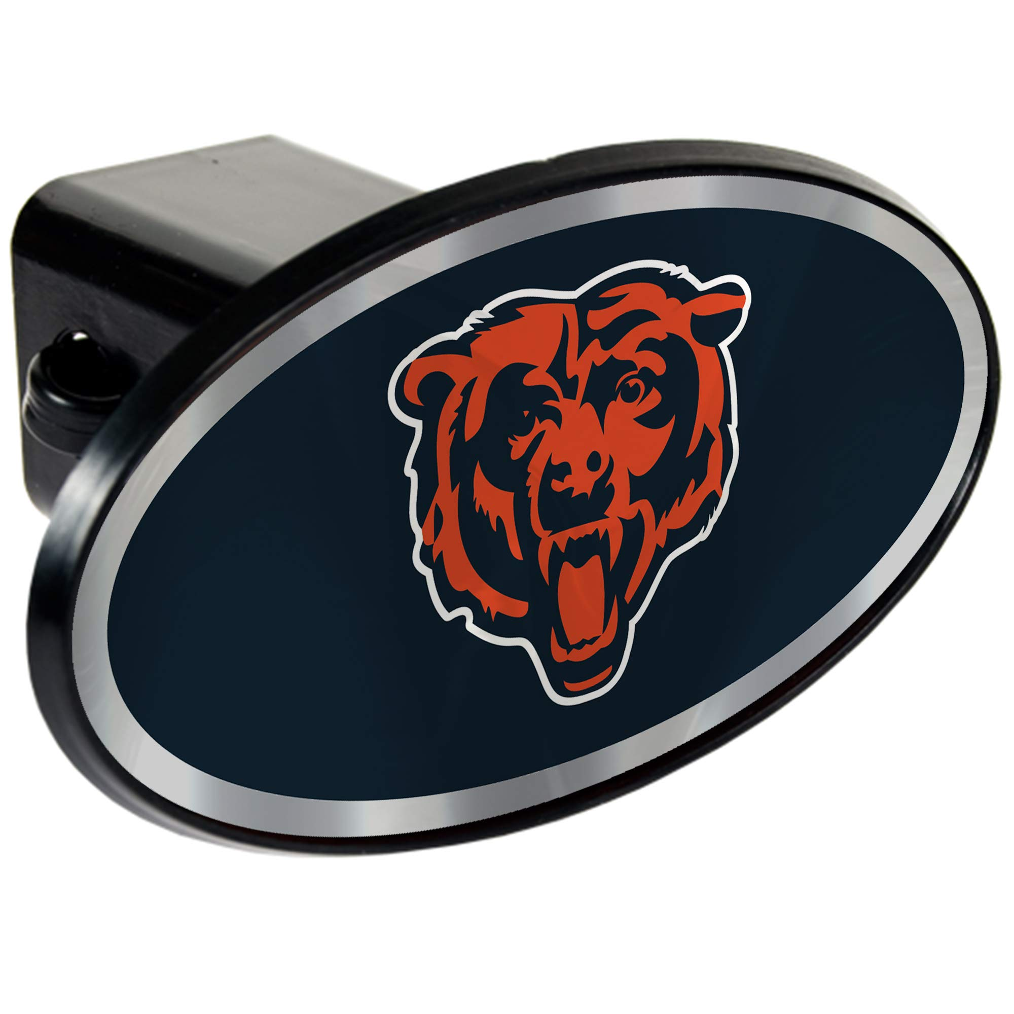 Chicago Bears 2'' NFL Trailer Hitch Receiver Cover - ABS Plastic by Quality Hitch Covers